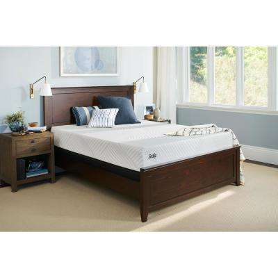 Conform Essentials King Plush Mattress with 5 in. Low Profile Foundation Set