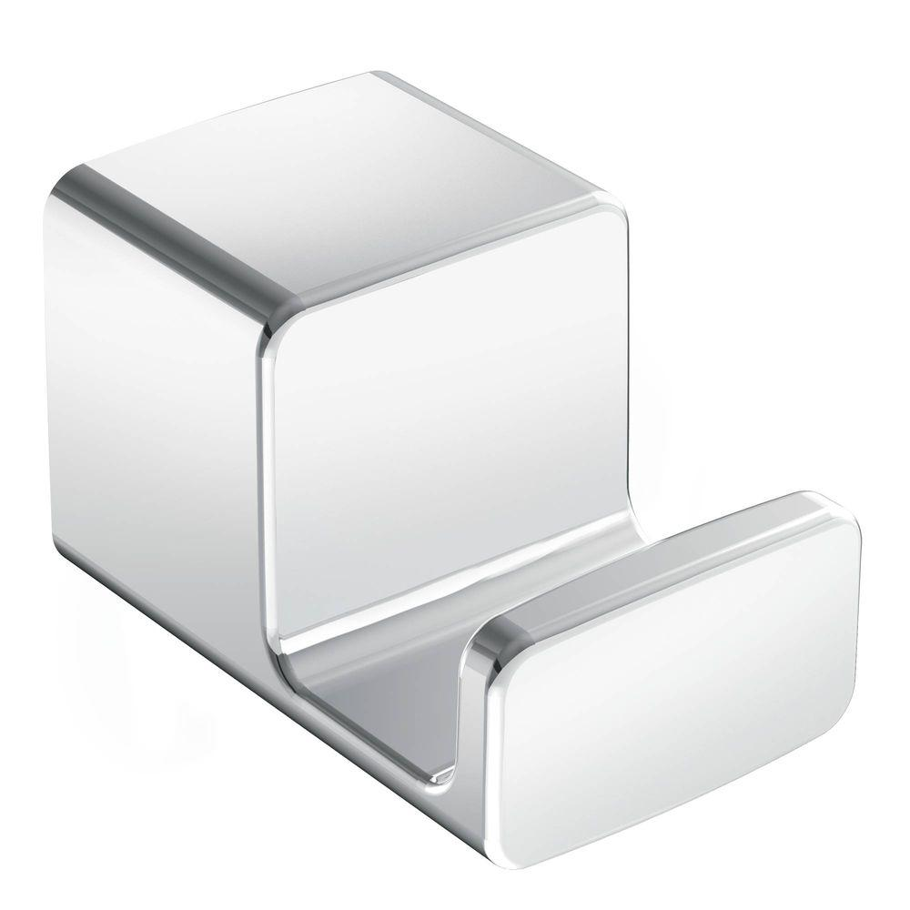 90 Degree Single Robe Hook in Chrome