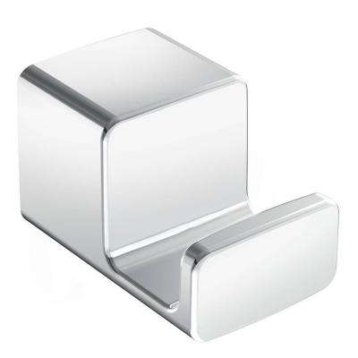 90-Degree Single Robe Hook in Chrome