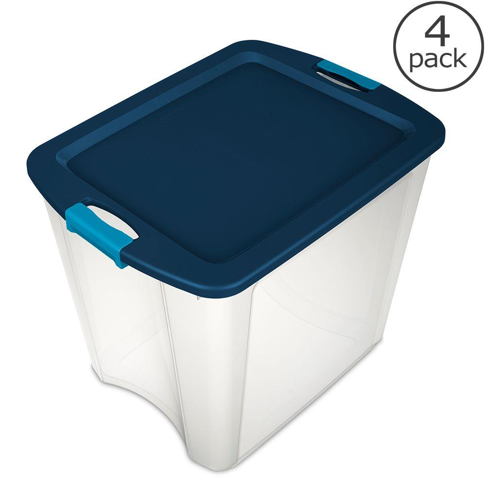 26 Gal. Latch And Carry Tote (4 Pack)