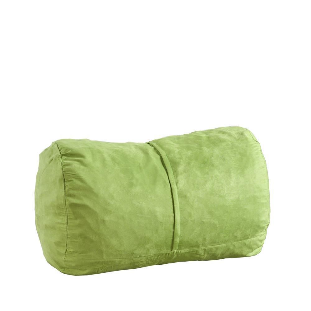 Sensational Noble House Barry Kiwi Suede Bean Bag Cover Cjindustries Chair Design For Home Cjindustriesco