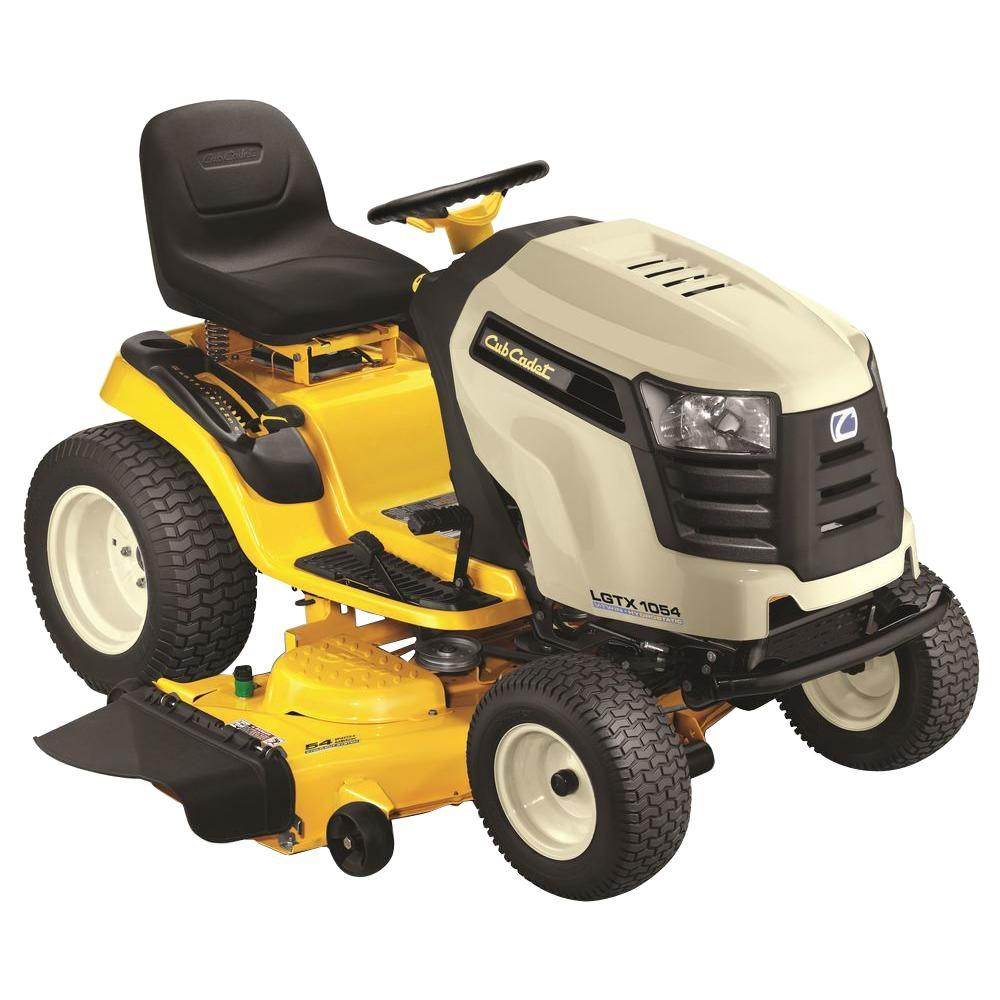 Cub Cadet LGTX1054 54 in. 27 HP 722 cc V-Twin Hydrostatic Front-Engine Gas Riding Mower with Power Steering