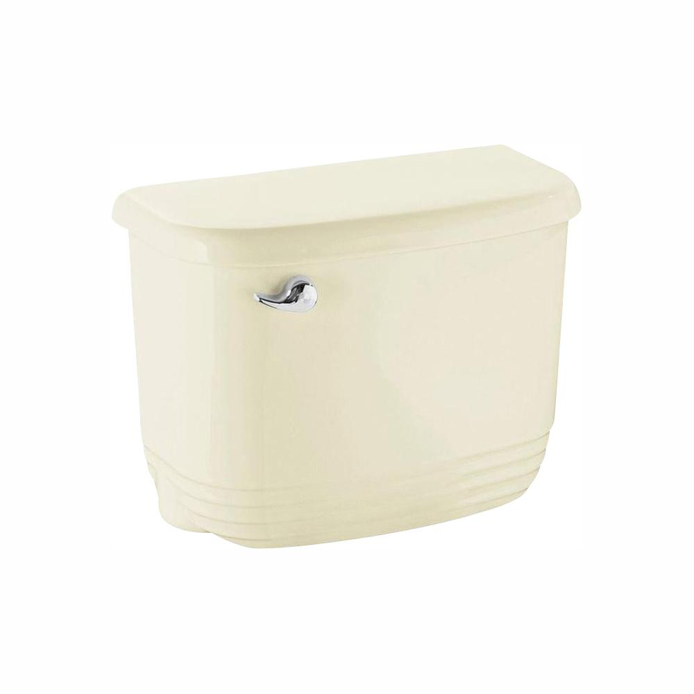 STERLING Riverton 1.28 GPF Single Flush Toilet Tank Only in Biscuit