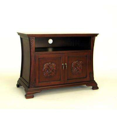 Brown Medallion TV Cabinet