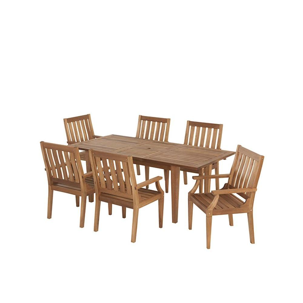 Martha Stewart Living Plum Island 7-Piece Patio Dining Set-DISCONTINUED