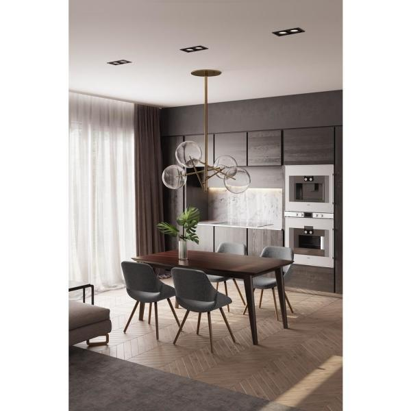 Simpli Home Draper Solid Hardwood And 66 In X 40 In Rectangle Mid Century Modern Dining Table In Java Brown Axcdrpdt The Home Depot