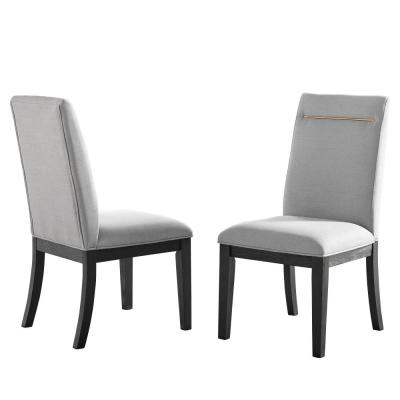 Yves Grey Dining Side Chair (Set of 2)