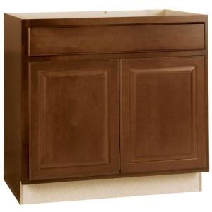 hampton bay hampton assembled 36x34.5x24 in. sink base