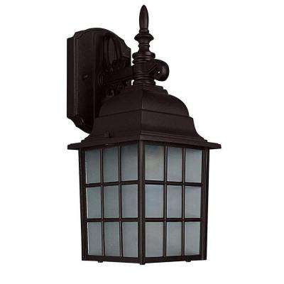 Bledsoe 1-Light Oil-Rubbed Bronze Outdoor Wall Lantern