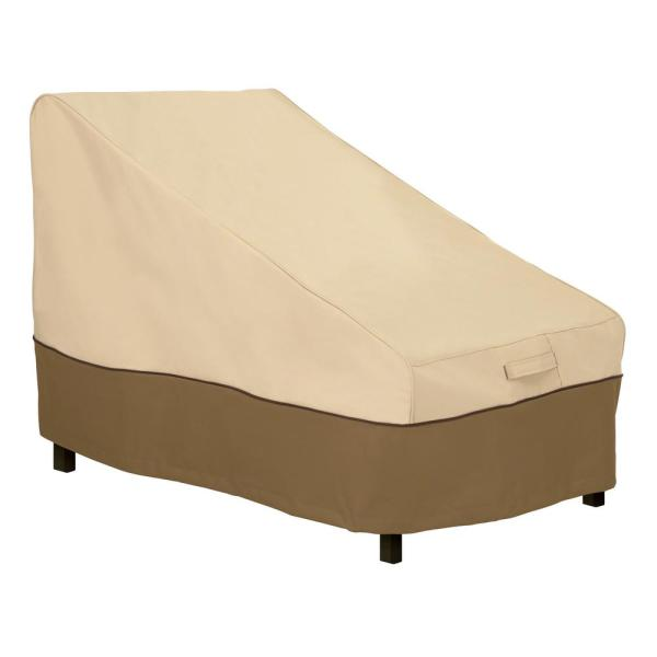 Veranda 40 in. L x 28 in. W x 31 in. H Deep Armless Chair or Sectional Patio Cover
