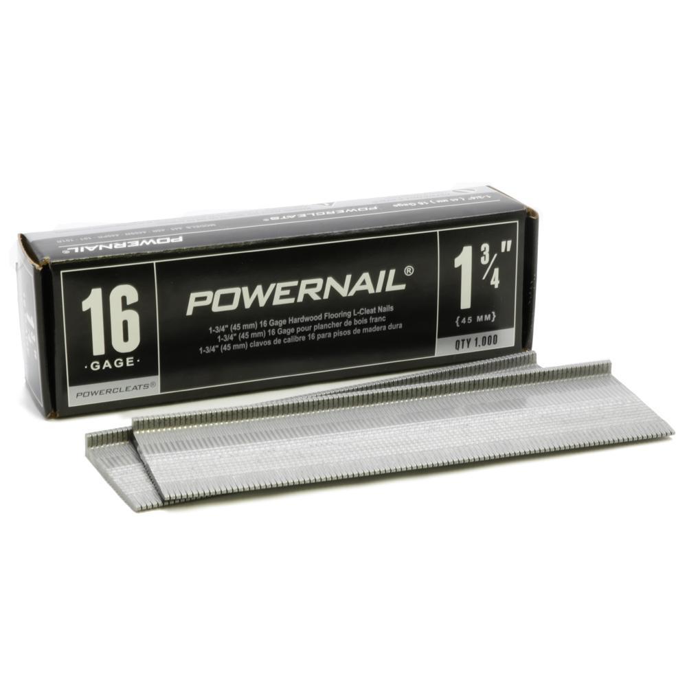 1-3/4 in. x 16-Gauge Powercleats Hardwood Flooring Nails (1000-Pack)