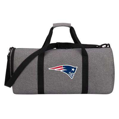 Patriots Wingman 10 in. Heathered Gray Duffle Bag