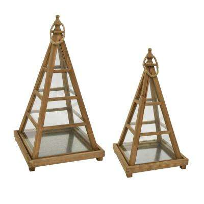 Wood Terrarium (Set of 2)