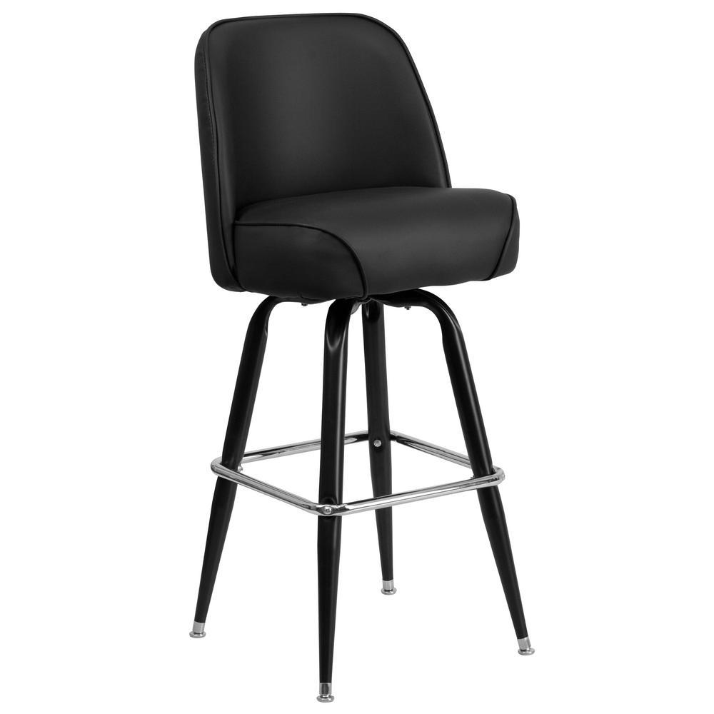 Flash Furniture Black Bar Stool CGA-XU-18162-BL-HD