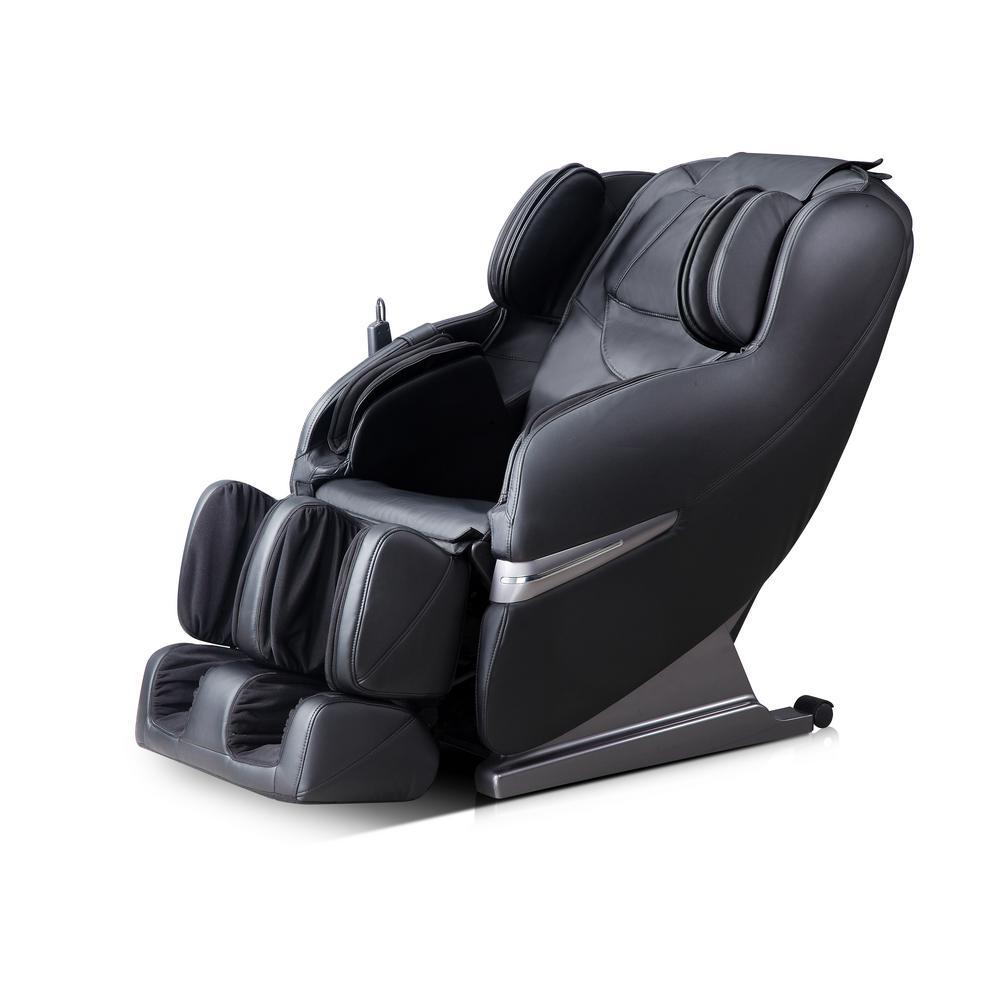 Black Faux Leather 5 Mode Massage Chair