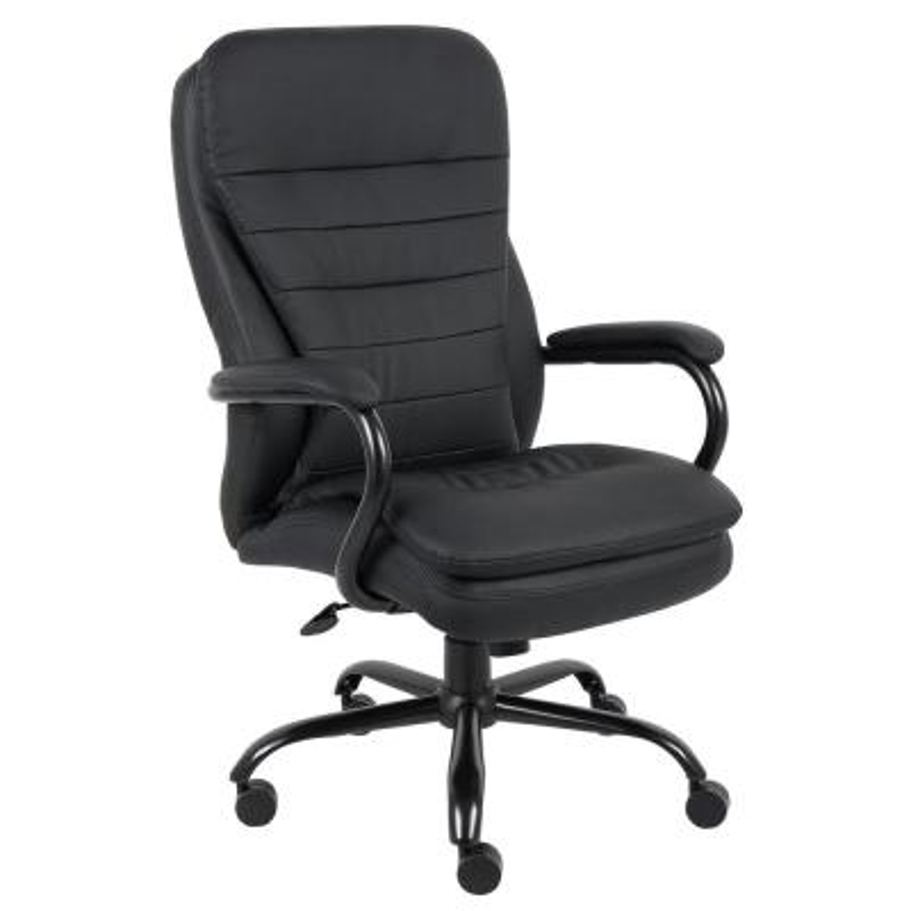 Black Executive Big and Tall Desk Chair 400 lb. Capacity