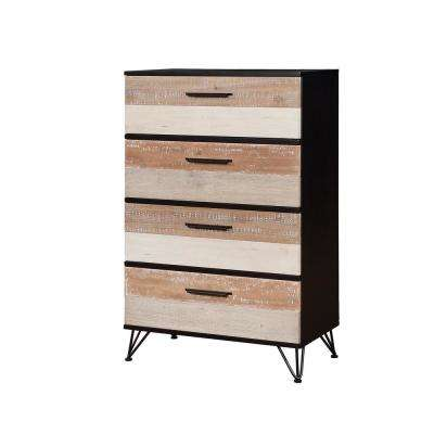 Hasselt 4-Drawers Espresso Transitional Style Chest