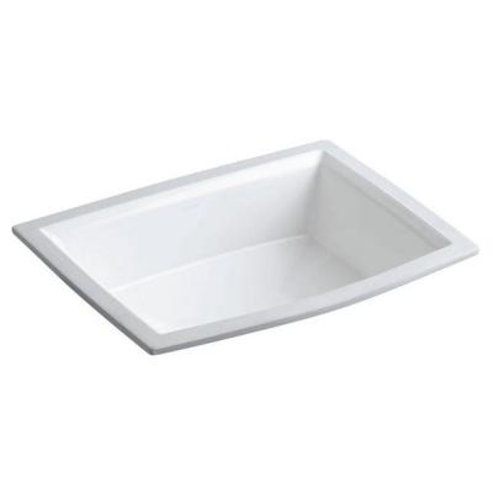 Archer Under-Mounted Bathroom Sink in White