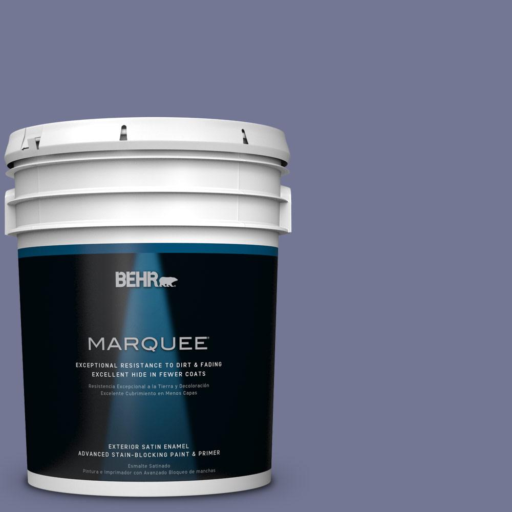 BEHR MARQUEE 5-gal. #S560-5 Royal Fortune Satin Enamel Exterior Paint