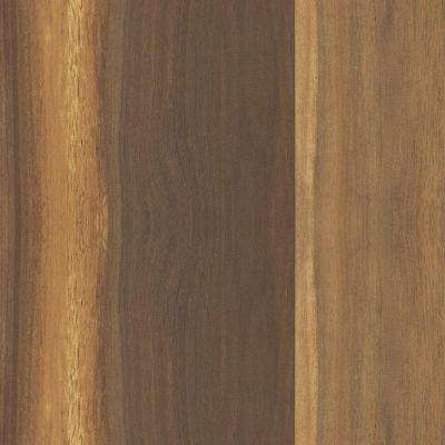 5 in. x 7 in. Laminate Countertop Sample in 180fx Wide Planked Walnut with Natural Grain Finish