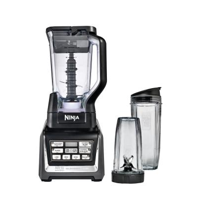 Nutri Ninja 2.25 oz. 3-Speed Black Blender Duo with Auto-iQ