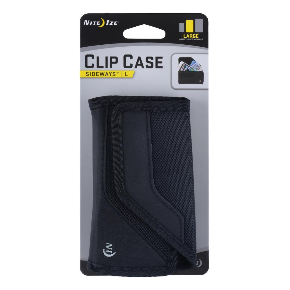 Clip Case Sideways - Large Black
