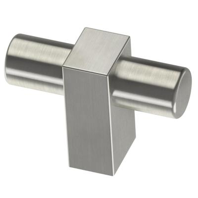 Artesia 1-3/4 in. Satin Nickel Bar Cabinet Knob
