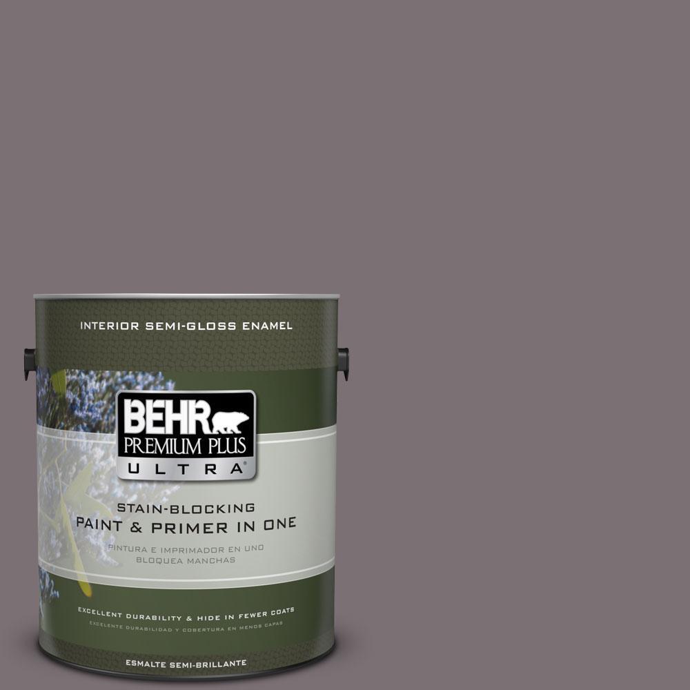 BEHR Premium Plus Ultra Home Decorators Collection 1-gal. #HDC-AC-27 Heather Sachet Semi-Gloss Enamel Interior Paint