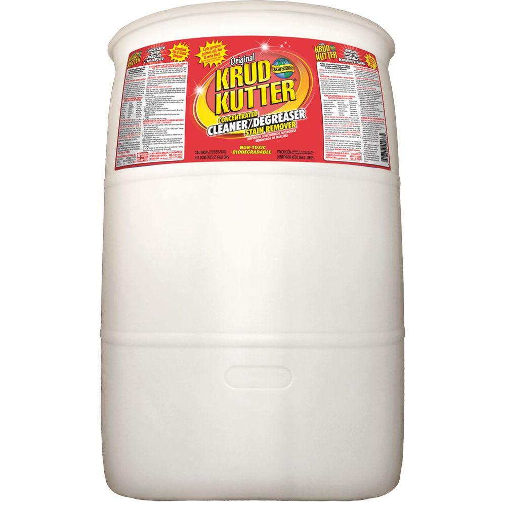 Kitchen Kutter: Krud Kutter 55 Gal. Original Concentrate Cleaner/Degreaser