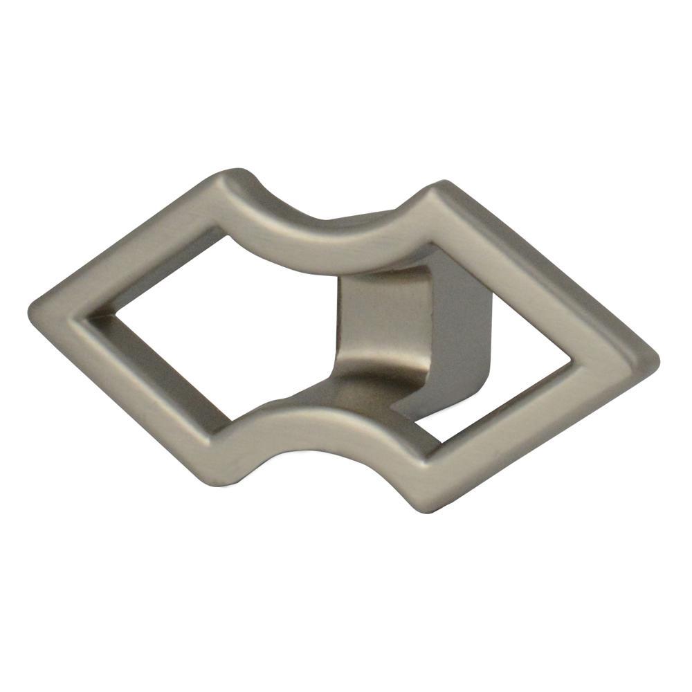 Naya 2 x 1 in. Satin Nickel Cabinet Knob