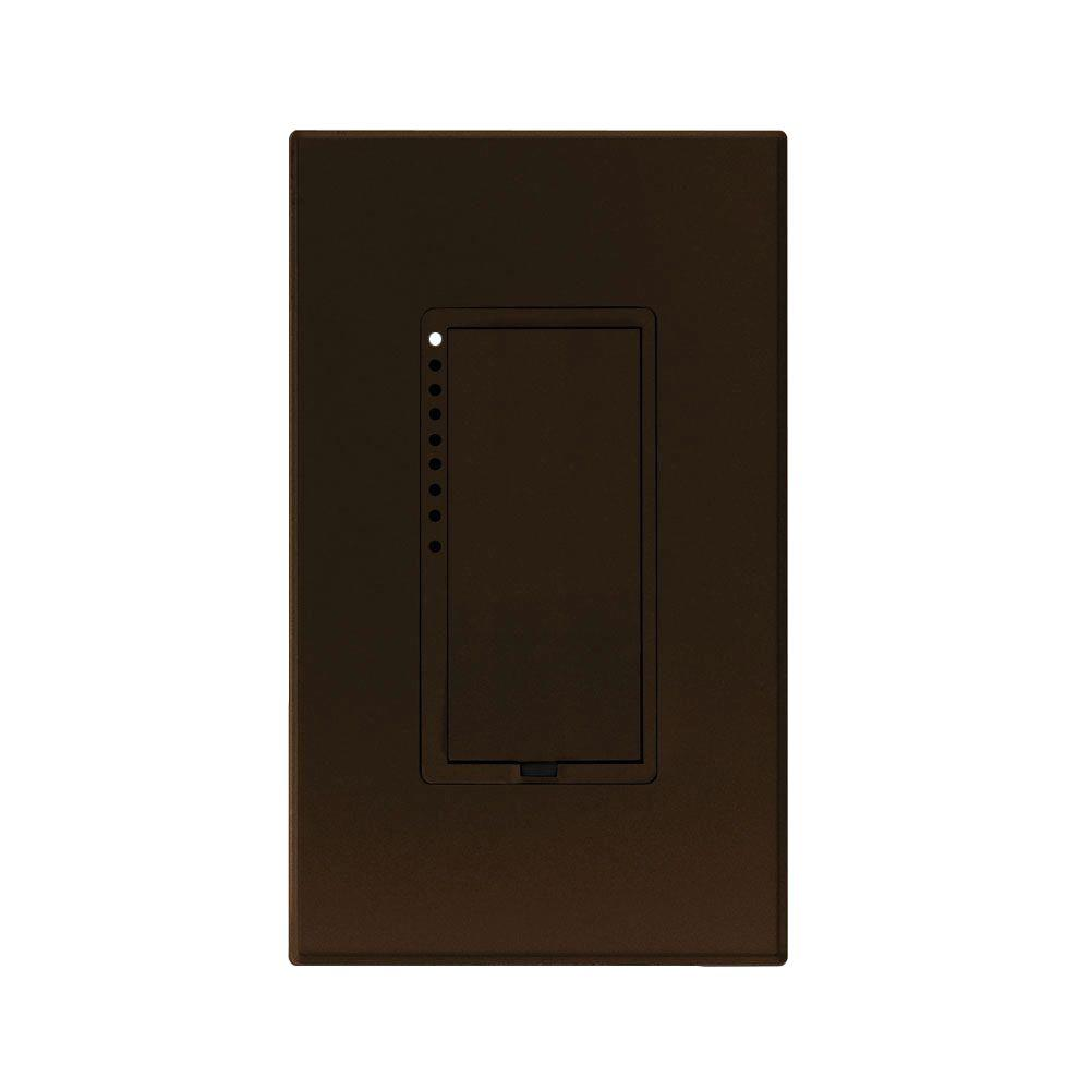 Insteon 600-Watt Multi-Location 2-Wire CFL-LED Dimmer - Brown