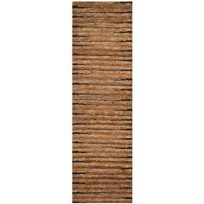 Organic Natural 3 ft. x 10 ft. Runner Rug