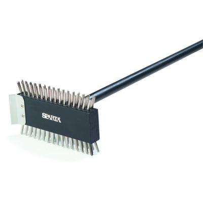 3-1/2 in. Stainless Steel Bristles Broiler Master Brush (6-Pack)