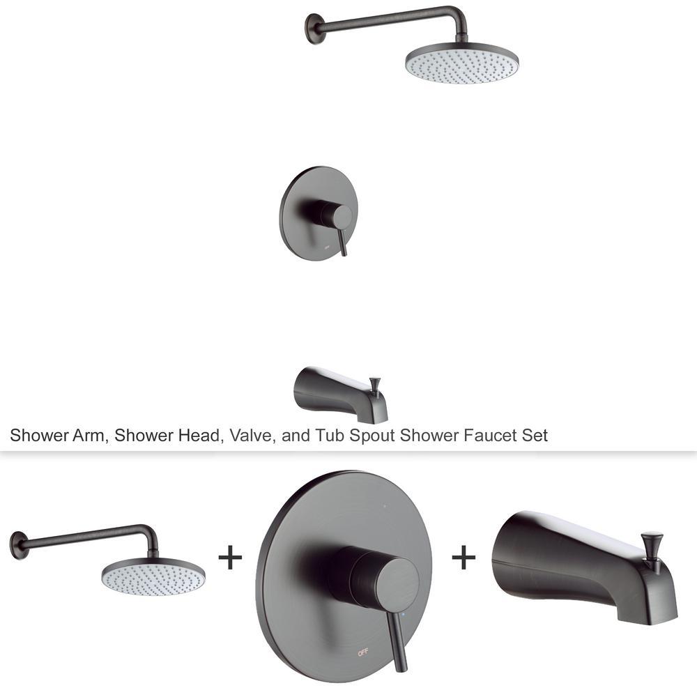 Spray Bathtub And Shower Faucet
