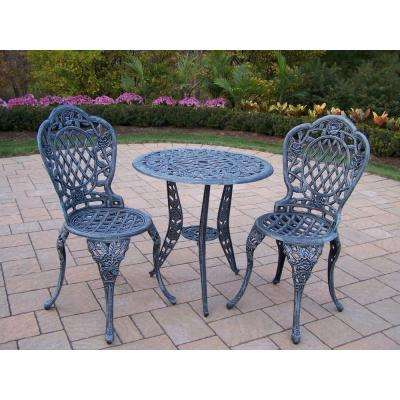 Tea Rose 3-Piece Patio Bistro Set
