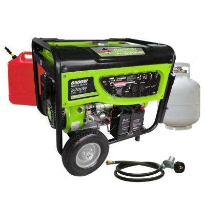 5,200-Watt Gasoline Powered Manual Start Portable Generator