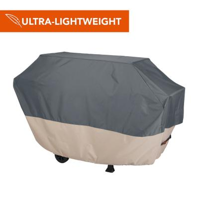 Renaissance Ultralite Water Resistant 6-Burner Grill Cover, 73 in. W x 25 in. D x 44.5 in. H, Large, Gray