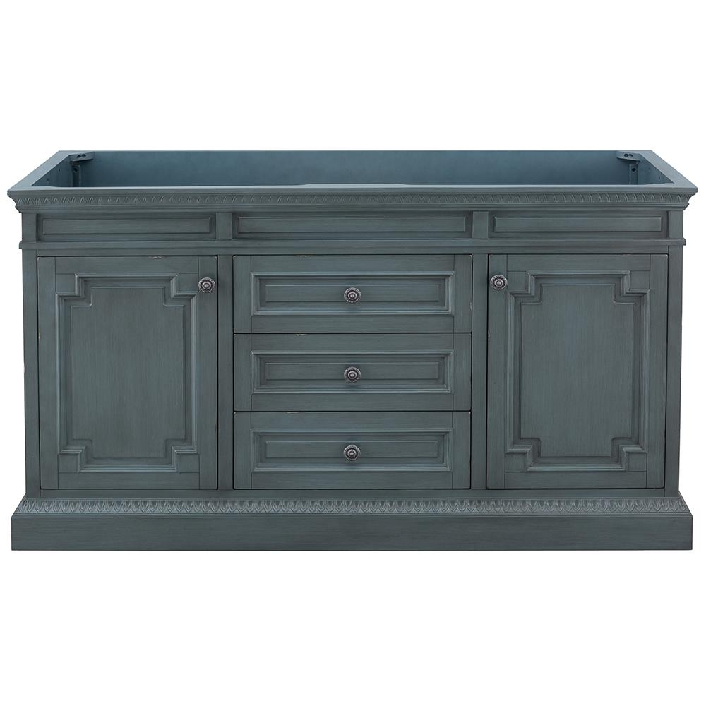 Home Decorators Collection Cailla 60 In W X 21 50 In D Bath Vanity