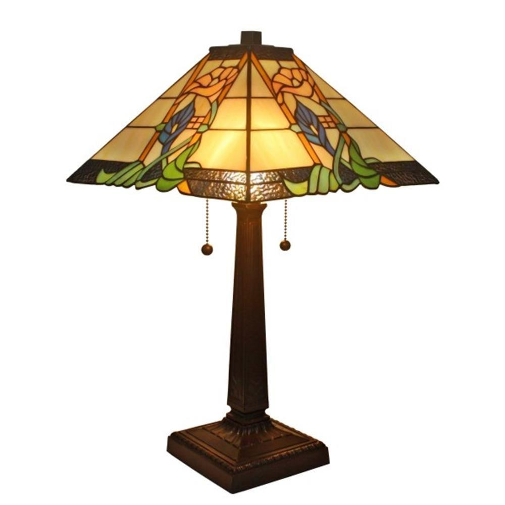 Charmant Amora Lighting 23 In. Tiffany Style Mission Table Lamp