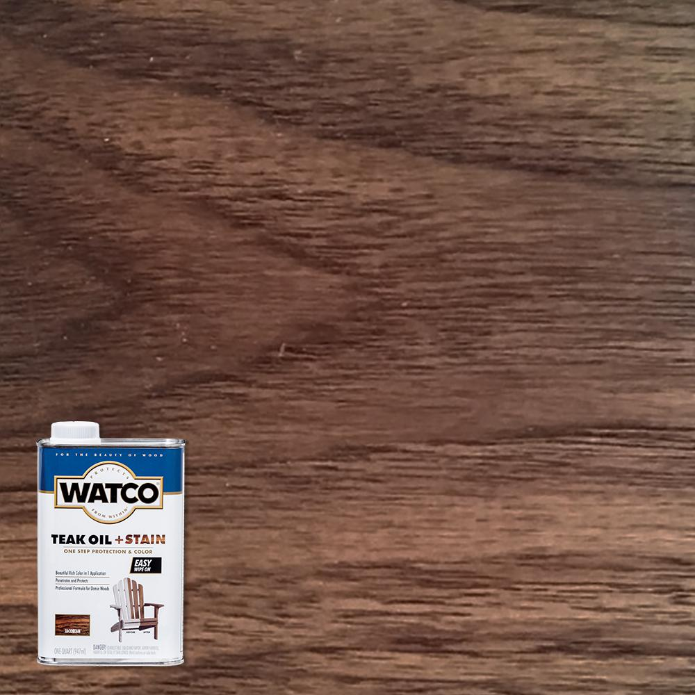 Watco 1 qt. Jacobean Teak Oil (4-Pack)