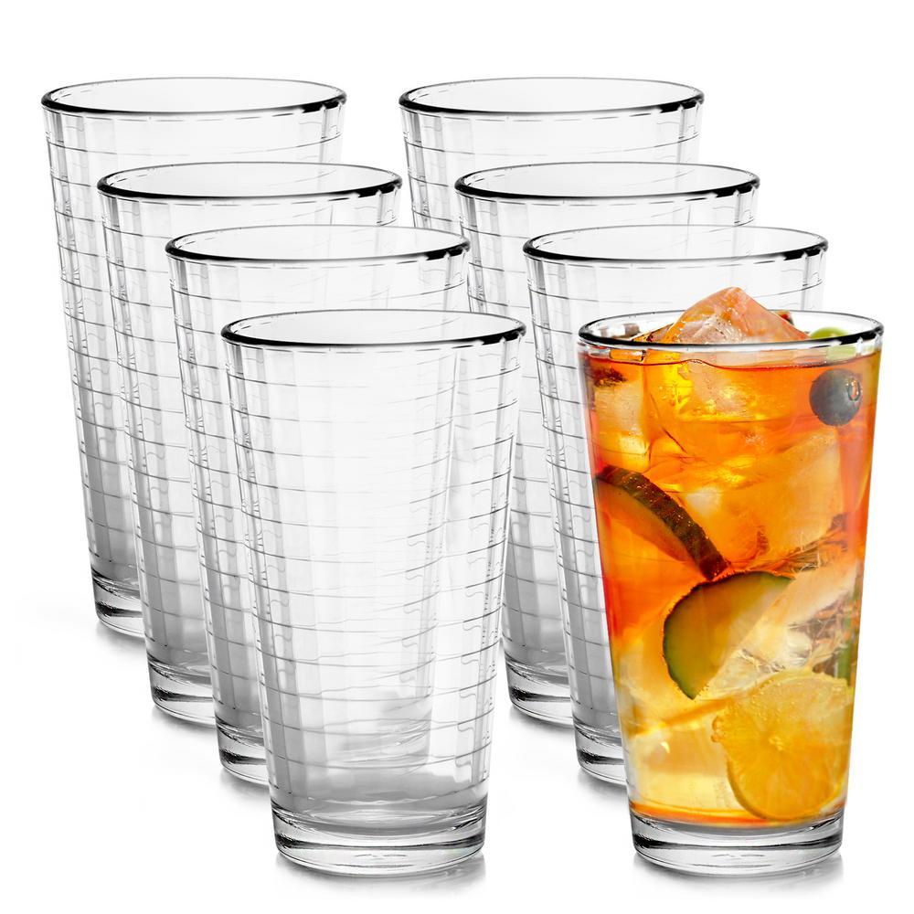 Pasabahce Scotch 16.75 oz. Cooler Glass (8-Pack)