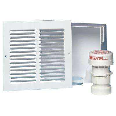 Sure Vent Wall Box with Grill Faceplate