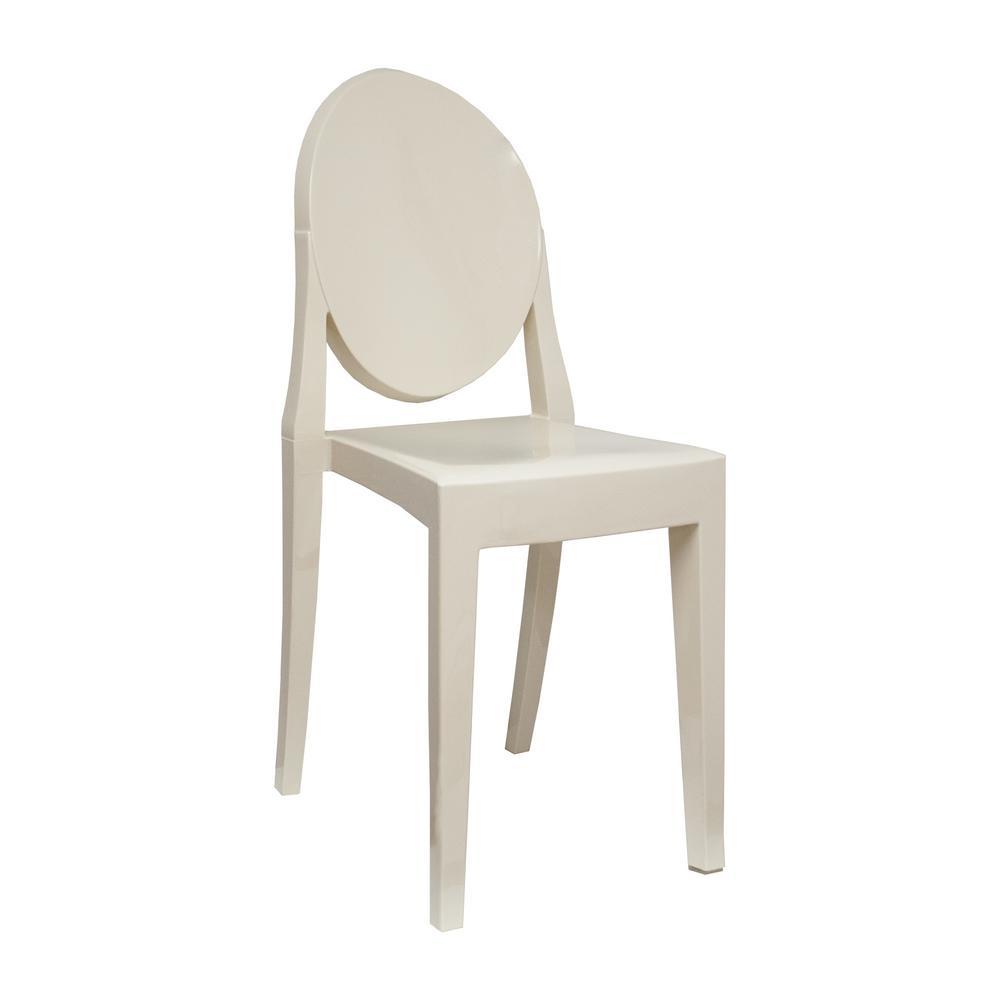 Louie Black Armless Dining Chair