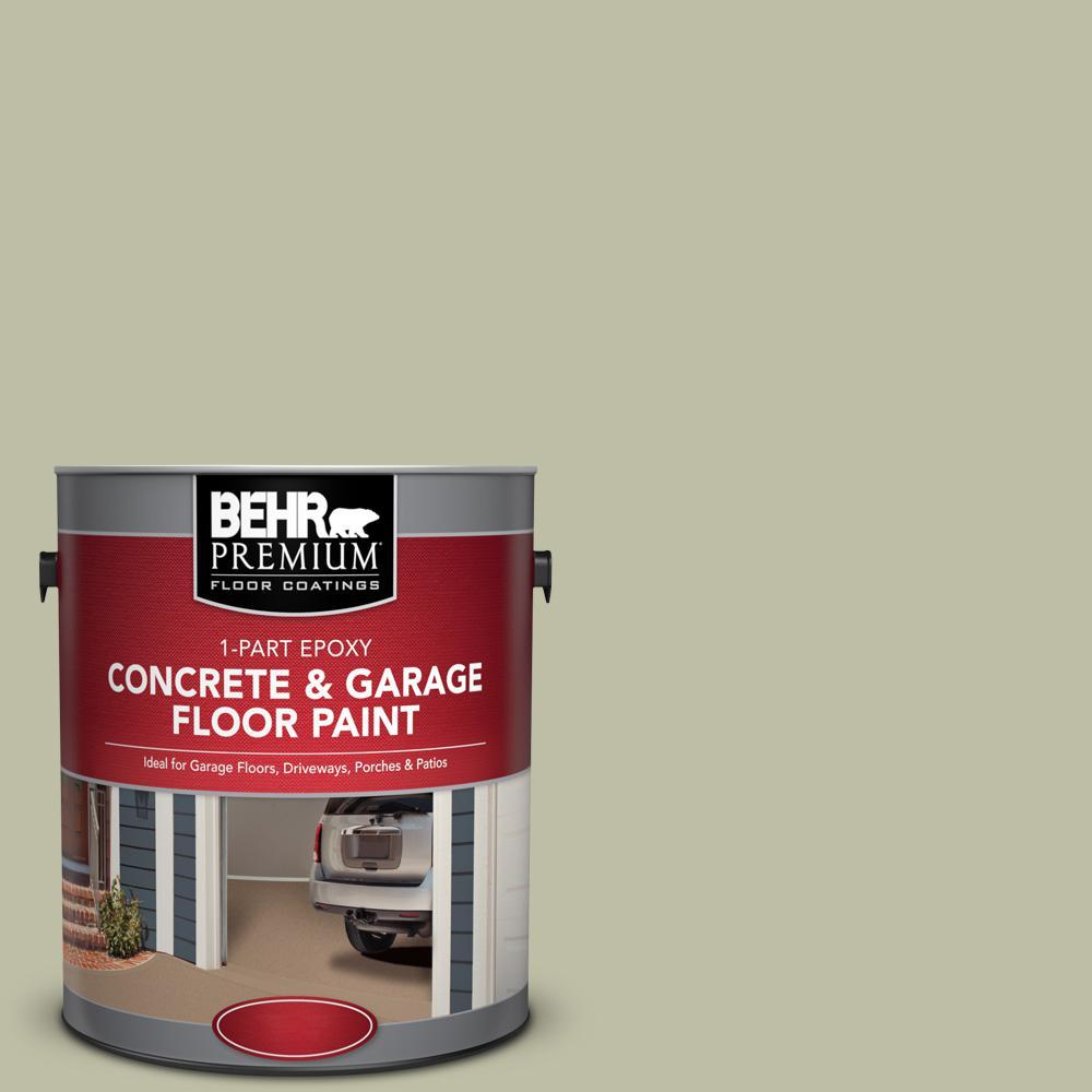 1 gal. #PPF-24 Garden Lattice 1-Part Epoxy Satin Interior/Exterior Concrete and Garage Floor Paint