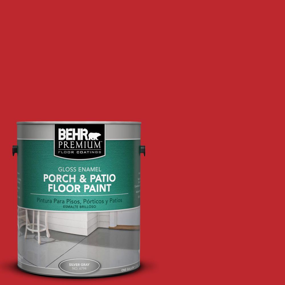 1 gal. #P150-7 Flirt Alert Gloss Porch and Patio Floor Paint