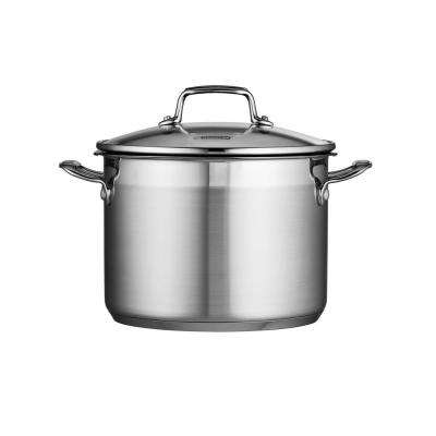 Gourmet 6 Qt. Stainless Steel Stock Pot