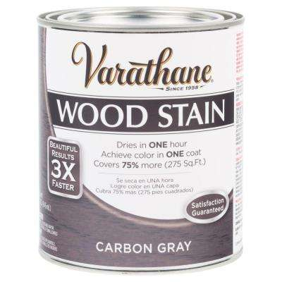 1 qt. 3X Carbon Gray Premium Wood Interior Stain (Case of 2)