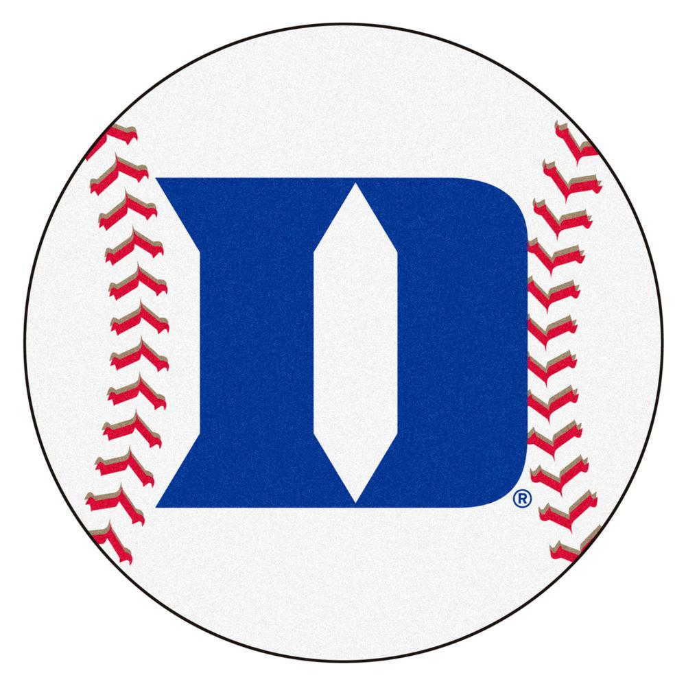 FANMATS NCAA Duke University White 27 In. Round Baseball