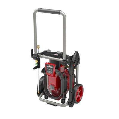 2000 Max psi, 1.2 Max GPM Electric Pressure Washer with Induction Motor and Tubular Steel Frame