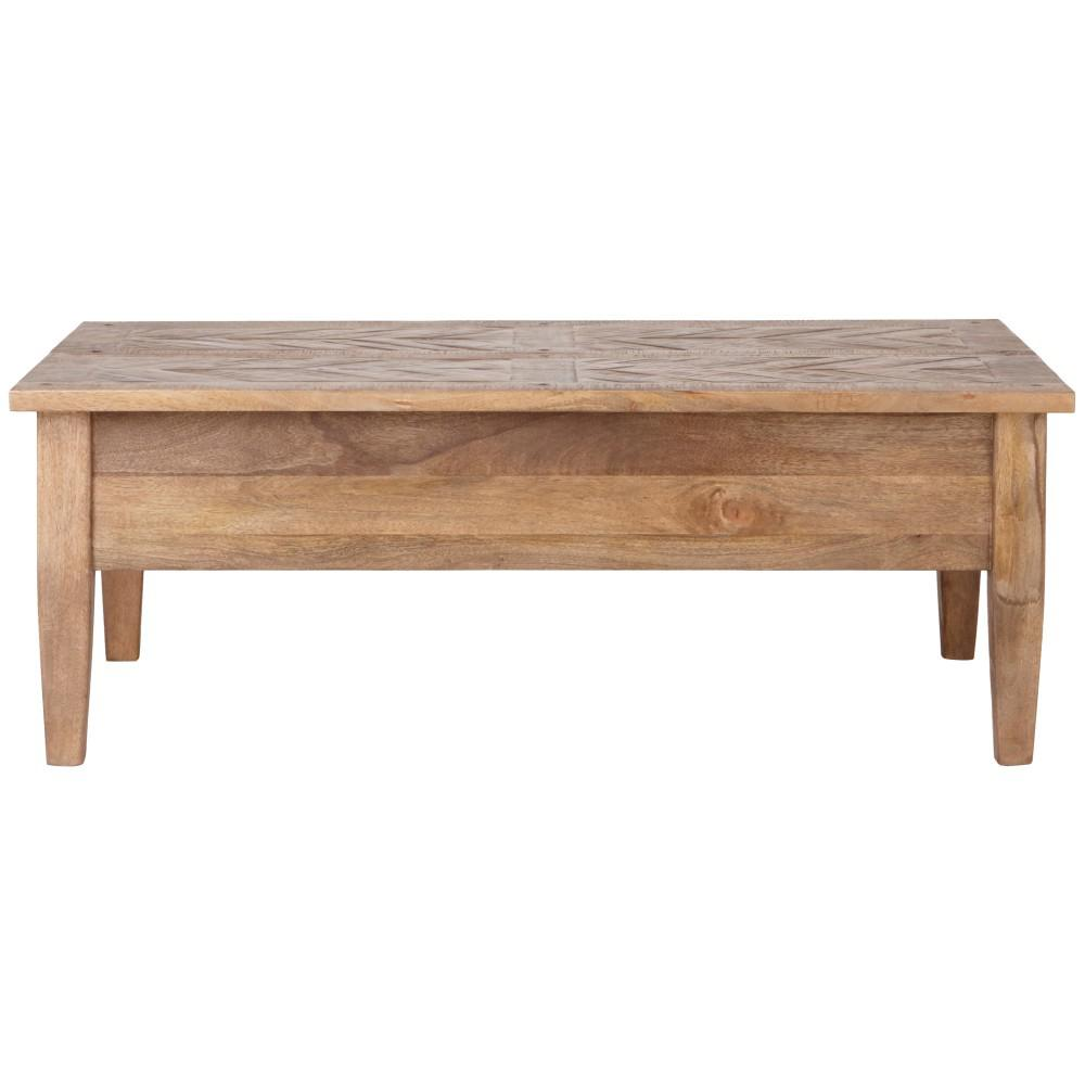 Home Decorators Collection Parquetry French Grey Coffee Table